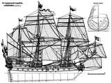 Полтава, 54-пушечный корабль, 1712