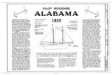 Alabama, schooner, 1925