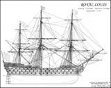 Royal Louis, 1st rate ship, 1780