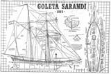 Sarandi, goleta, 1815