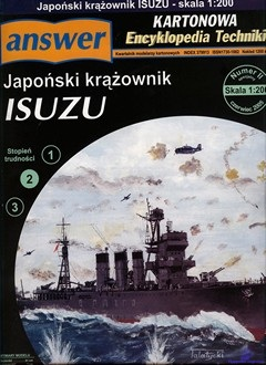 Light Cruiser IJN Isuzu