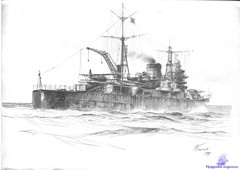 Heavy Cruiser IJN Tone