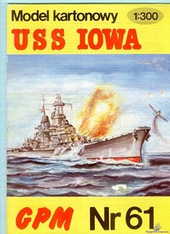Battleship BB61 USS Iowa