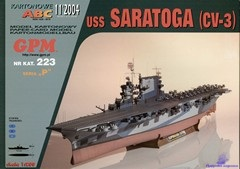 Aircraft Carrier USS Saratoga (CV-3)