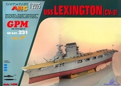 Aircraft Carrier USS Lexington (CV-2)
