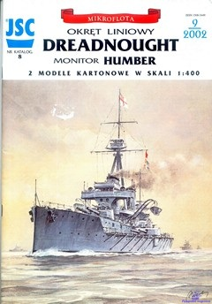 Battleship HMS Dreadnought, Monitor HMS Humber